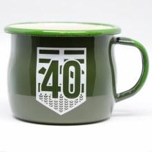 Highway 40 Enamel Cup