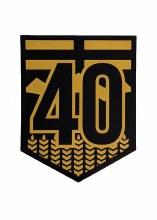 Hwy 40 Shield Monochrome