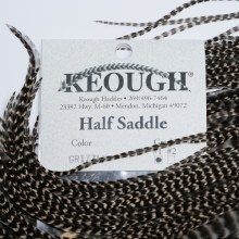 Keough Half Saddles Grizzly #1