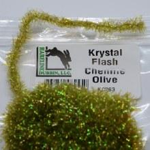 Krystal Flash Chenille Olive