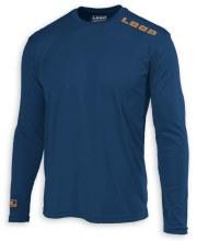 Loop LS Tech Shirt Blue Small