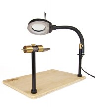 Norvise Fly Tying Lamp w/Mag