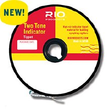 RIO 2Toned Indicator Tippet 4X