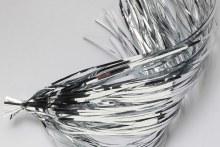 Saltwater Flashabou Silver
