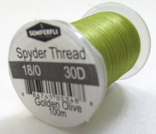 Semperfli Spyder Thread GldOlv