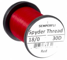 Semperfli Spyder Thread Red