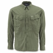 Simms Guide LS Shirt Olive M