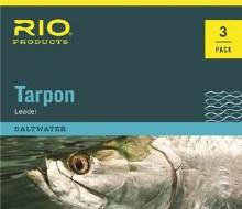 Tarpon Fluoro Leader 80lb 3pk