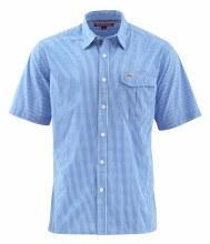 Transit Shirt Blue Plaid M