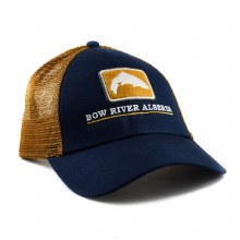 Trucker Hat Bow River Ab ABlue