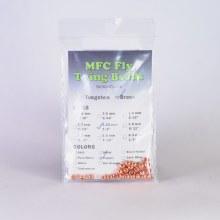 Tungsten Beads - Silver 1/8