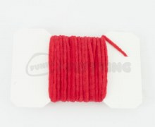 Ultra Chenille Micro Fl Red