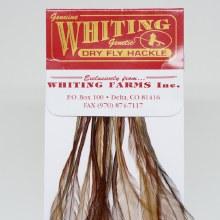Whiting 100 Pk. Brown Sz16
