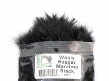 Wooly Bugger Marabou Black
