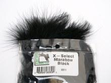 "X - Select 6"" Marabou - black"