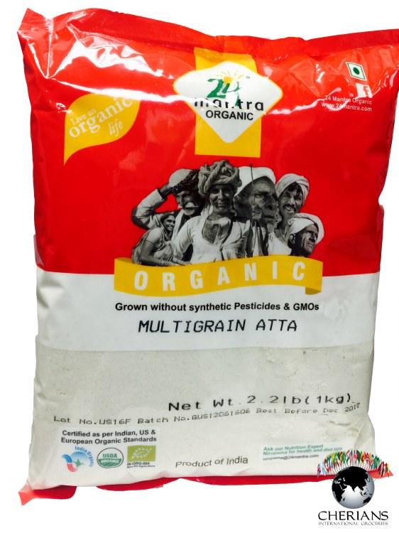 24 MANTRA ORGANIC MULTIGRAIN ATTA 2.2LB