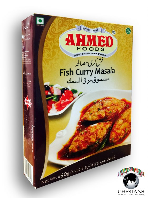 AHMED FISH CURRY MASALA 50G