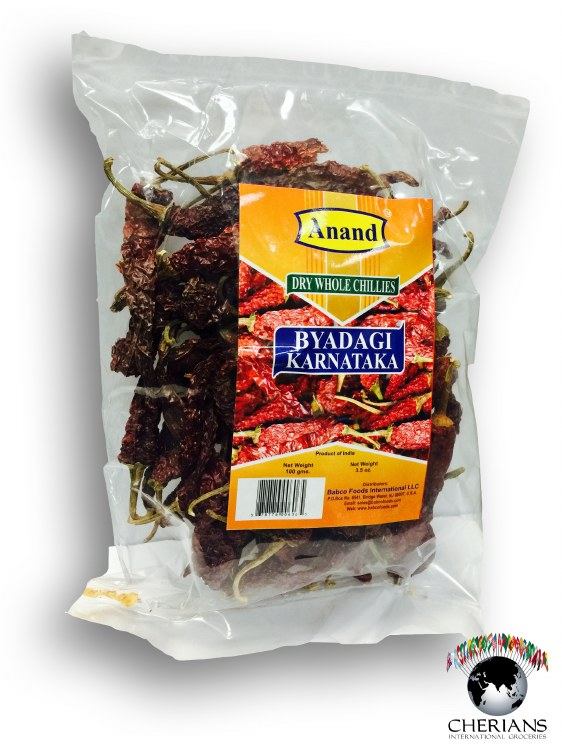 ANAND DRY CHILI BYAD KN 100GM