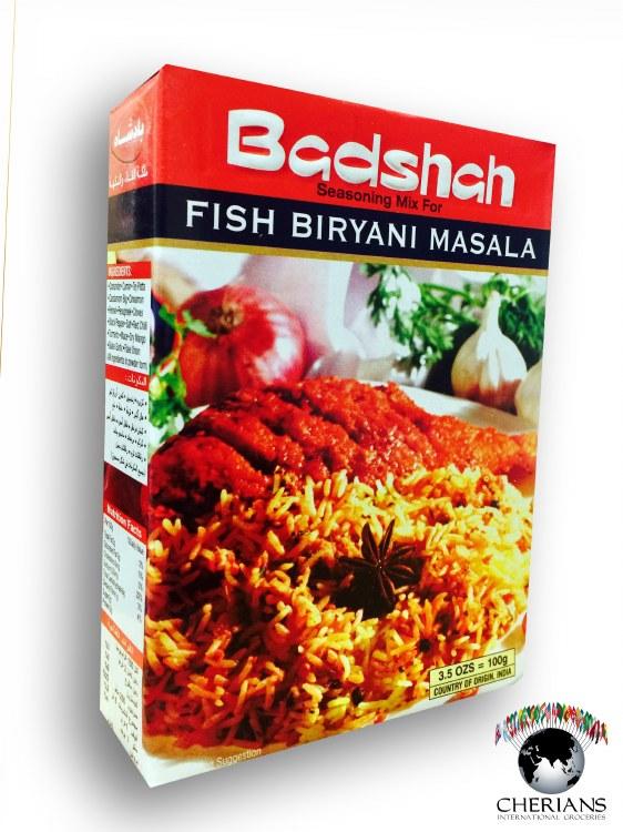 BADSHAH FISH BIRIYANI 120GM