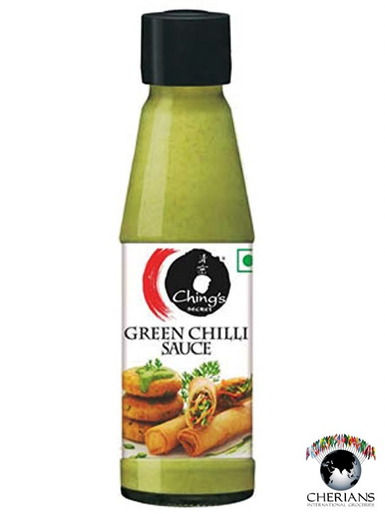 CHINGS GREEN CHILI SAUCE 190G