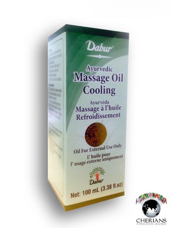 DABUR AYURVEDIC MASSAGE OIL COOLING 100ML