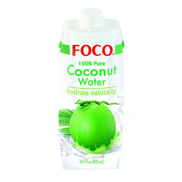 FOCO COCONUT WATER 500ML