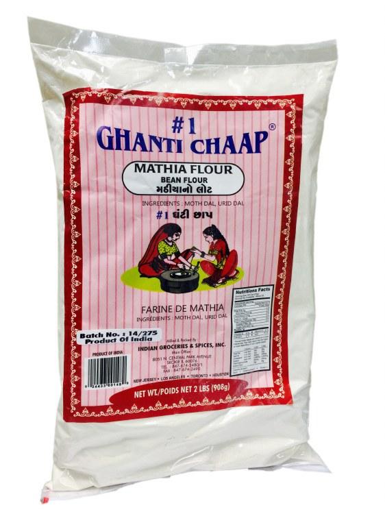 GHANTI CHAAP MATHIA FLOUR 2LB