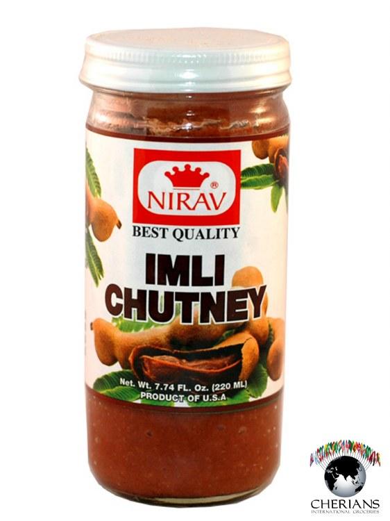NIRAV IMLI CHUTNEY 220ML