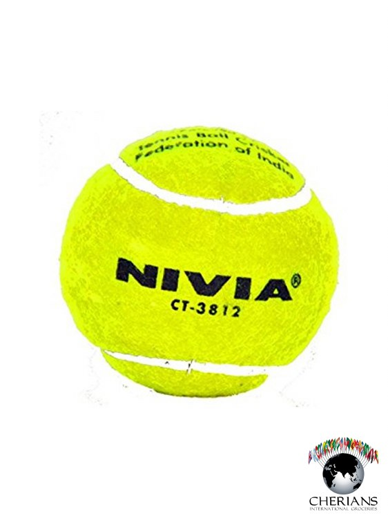 NIVIA CRICKET TENNIS BALL