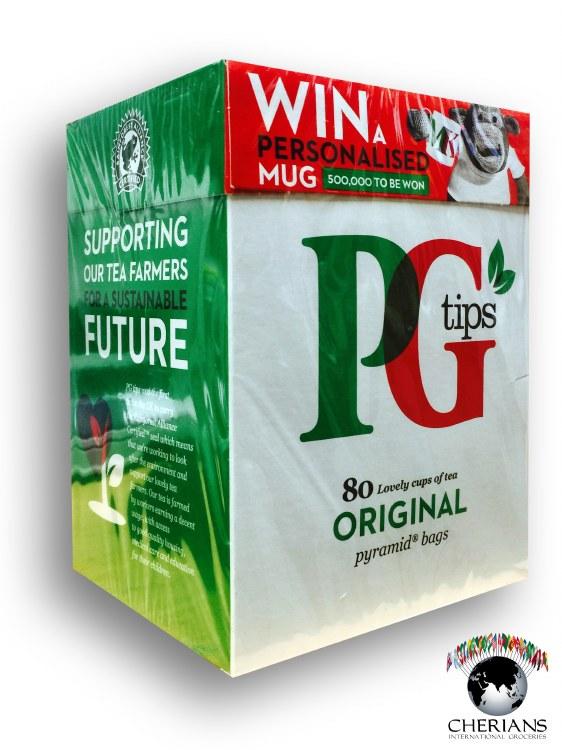 PG TIPS TEA 80TB/232G