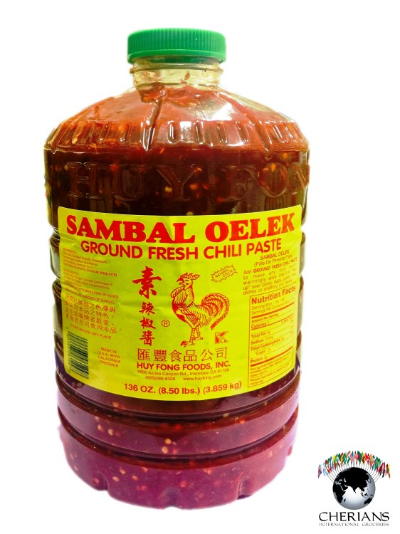 CHILI PASTE SAMBAL OELEK 136OZ