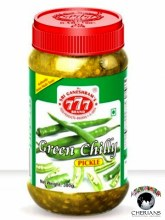 777 GREEN CHILLY PICKLE 300G