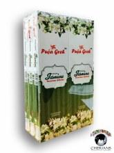 PUJA GREH JASMINE INCENSE (6 PACKS OF 20 STICKS)