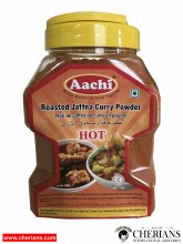 AACHI ROASTED JAFFNA CURRY POWDER HOT 500G