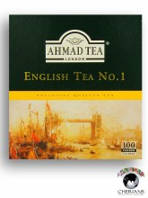 AHMAD TEA LONDON ENGLISH TEA NO. 1 -1OO TEA BAGS/200G