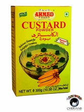 AHMED CUSTARD POWDER-BANANA FLAVOUR 300G