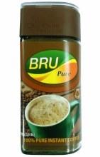 BRU INSTANT COFFEE JAR 100GM