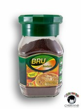 BRU INSTANT COFFEE AND ROASTED CHICORY 100G