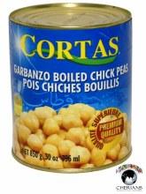 CORTAS BOILED CHICK PEAS 30OZ