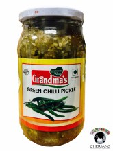 GRANDMAS GREEN CHILLI PICKLE 400G