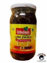 GRANDMAS LIME PICKLE (HOT & SWEET) 400G