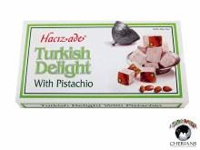 HACIZADE TURKISH DELIGHT PISTACHIO 454G