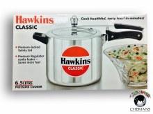 HAWKINS PRESSURE COOKER 6.5LT