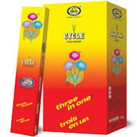INCENSE CYCLE 3 IN 1 - 12PK