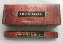 INCENSE HEM AMBER SANDAL (6)20