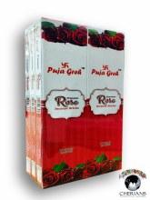 PUJA GREH ROSE INCENSE (6 PACKS OF 20 STICKS)