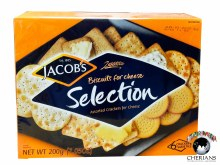 JACOBS SELECTION BISCUITS FOR CHEESE 200G