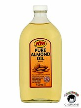 KTC PURE ALMOND OIL 500ML