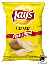 LAYS CLASSIC FAMILY SIZE 10 OZ