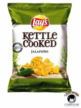 LAYS KETTLE COOKED JALAPENO FLAVORED 77.9G